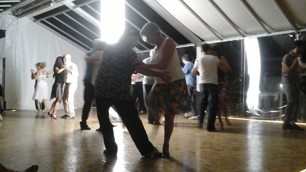 WE LOVE TANGO - MILONGA IN DER SILL